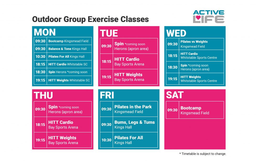 Outdoor Group Exercise Classes